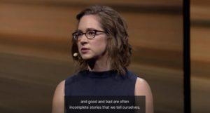 TEDトーク:Good or bad, hard to say